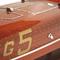 détail maquette de bateau, voilier, runabout Baby Bootlegger - 50 cm Kiade
