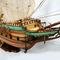 détail maquette de bateau, voilier, runabout Batavia - (coque 80 cm) Old Modern Handicrafts