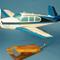 maquette d'avion civil monomoteur Beech Aircraft Bonanza V35 - Civil - 33 cm Pilot's Station 138.00 € ttc