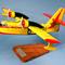 maquette d'avion hydravion bimoteur Canadair CL.215 - Sécurité Civile - 52 cm Pilot's Station