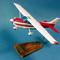 maquette d'avion privé monomoteur Cessna 172 Skyhawk - Civil - 46 cm Pilot's Station