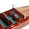 détail maquette de bateau, voilier, runabout Chris Craft - 50 cm Kiade