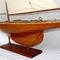 détail maquette de bateau, voilier, runabout Columbia - 60 cm Old Modern Handicrafts