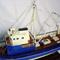 détail maquette de bateau, voilier, runabout La Confiance - 60 cm Old Modern Handicrafts