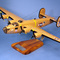 maquette d'avion bombardier quadrimoteur Consolidated B-24D Liberator  Strawberry Bitch  - 60 cm Pilot's Station 138.00 € ttc