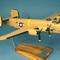 détail maquette d'avion Consolidated B-24D Liberator  Strawberry Bitch  - 60 cm Pilot's Station