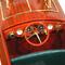 détail maquette de bateau, voilier, runabout Dixie II - 50 cm Kiade
