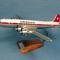 maquette d'avion commercial quadrimoteur Douglas DC-6 Swissair - 51 cm Pilot's Station 135.00 € ttc