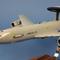 détail maquette d'avion E-3F Sentry  EDCA 36 escadre - 47 cm Pilot's Station