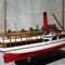 détail maquette de bateau, voilier, runabout Earnslaw - 60 cm Old Modern Handicrafts