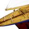 détail maquette de bateau, voilier, runabout Endeavour - 50 cm Kiade