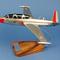 maquette d'avion entraînement biréacteur Fouga Magister CM170   Salon  - 34 cm Pilot's Station
