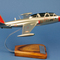 détail maquette d'avion Fouga Magister CM170   Salon  - 34 cm Pilot's Station