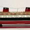maquette de bateau, voilier, runabout paquebot transatlantique France peint - 80 cm Old Modern Handicrafts 215.00 € ttc