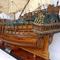 détail maquette de bateau, voilier, runabout Friesland - (coque 60 cm) Old Modern Handicrafts