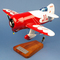 maquette d'avion acrobatie biplan Granville Gee Bee R2 Model - Racer - 43 cm Pilot's Station