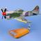 maquette d'avion Hawker Tempest MK.V - RAF Sqn 3