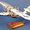 maquette d'avion Latécoère Laté.300 - Croix du Sud - 37 cm Pilots' Station