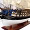 détail maquette de bateau, voilier, runabout Protecteur (Le) - (coque 80 cm) Old Modern Handicrafts