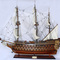 ship, sailboat, runabout model historic sailing ship Saint Esprit - 94 cm Old Modern Handicrafts 641.14 € vat incl.