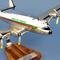 détail maquette d'avion Constellation L-749  Royal Air Maroc CN-CCN - 53 cm Pilot's Station