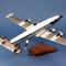 détail maquette d'avion Lockheed L.1049 Super G KLM - 53 cm Pilot's Station