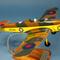 détail maquette d'avion Miles 14A Magister - 43 cm Pilot's Station