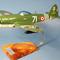 maquette d'avion Republic P-47.D Thunderbolt GC III/3 Ardennes - 43 cm Pilots' Station