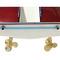 détail maquette de bateau, voilier, runabout Riva Aquarama Special 1/15e - 58 cm - Licence Officielle Riva Kiade
