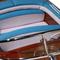 détail maquette de bateau, voilier, runabout Riva Super Ariston 1/10 - 69 cm - Licence Officielle Riva Kiade