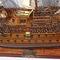 détail maquette de bateau, voilier, runabout San Felipe - (coque 80 cm) Old Modern Handicrafts