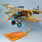 maquette d'avion Royal Aircraft Factory SE.5 - Lt.Col Bishop - 39 cm Pilots' Station