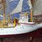 détail maquette de bateau, voilier, runabout Sorlandet - 120 cm Old Modern Handicrafts