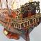 détail maquette de bateau, voilier, runabout Souverain  (coque 80 cm) Old Modern Handicrafts