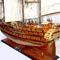 détail maquette de bateau, voilier, runabout Superbe coque cuivre (coque 80 cm) Old Modern Handicrafts