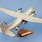 détail maquette d'avion Transall  C-160  NG perche gris - 41 cm Pilot's Station