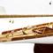 détail maquette de bateau, voilier, runabout Tuiga - 50 cm Kiade