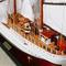détail maquette de bateau, voilier, runabout US Coast Guard - (coque 80 cm) Old Modern Handicrafts