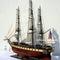 détail maquette de bateau, voilier, runabout USS Constellation - (coque 120 cm) Old Modern Handicrafts