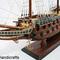 détail maquette de bateau, voilier, runabout Wasa - 40 cm Old Modern Handicrafts
