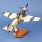 détail maquette d'avion Yak 3 - GC.3  Normandie Niemen - 39 cm Pilot's Station