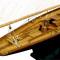 détail maquette de bateau, voilier, runabout Pen Duick  - 75 cm Kiade