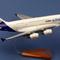 détail maquette d'avion Airbus A.380-800 n/c - 55 cm Pilot's Station