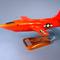 maquette d'avion expérimental moteur fusée Bell X-1  - 42 cm Pilot's Station 138.00 € ttc