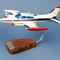 maquette d'avion privé bimoteur Cessna 310 - Civil - 47 cm Pilot's Station 138.00 € ttc