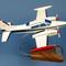 détail maquette d'avion Cessna 310 - Civil - 47 cm Pilot's Station