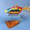 maquette d'helicoptère civil EC-145 Sécurité Civile - 38 cm Pilot's Station 144.00 € ttc