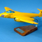 maquette d'avion Gloster Meteor MK3 - Yellow Peril EE455 - 40 cm Pilots' Station