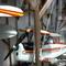 détail tableau 3d Le garage avion Patrick Richard