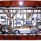 détail tableau 3d Le garage voiture Patrick Richard
